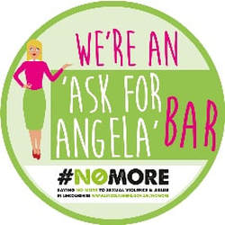 We are an An Ask for Angela Bar
